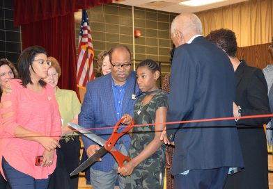 Ribbon Cutting Ceremony for School #12 Renamed After Frederick Douglass!