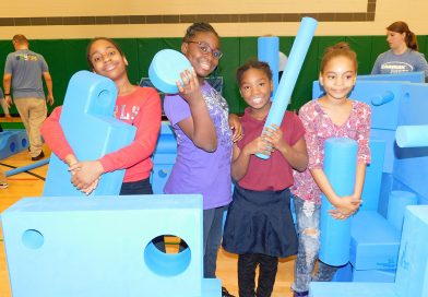 Imagination Playground Comes to the Inner City!