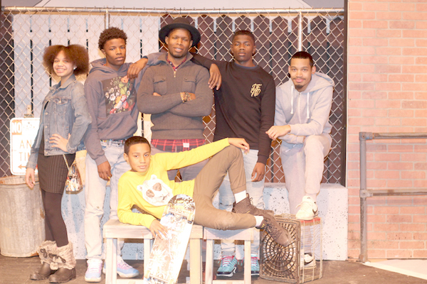 Directors of The Sidewalk Stage Play Spotlight Production Talents of  Youth  Working Behind the Curtain