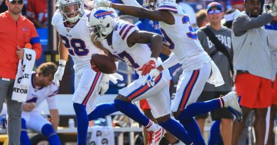 Bills Hold on  for 21 – 17 win  over Bengals