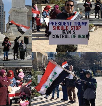 Rally Brings Attention to The Crisis Situation in Iraq: