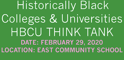 A Call To Action: HBCU THINK TANK
