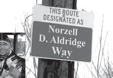 "Trailblazing Sign in Honor of Norzell ""Nore""  Aldridge"" Unveiled"
