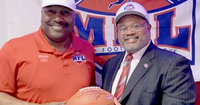 Minor Football League Heads North to Rochester MFL Chargers Franchise to be Led by New General Manager Patrick Freeman