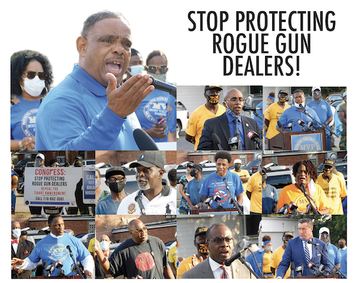 STOP PROTECTING ROGUE GUN  DEALERS!