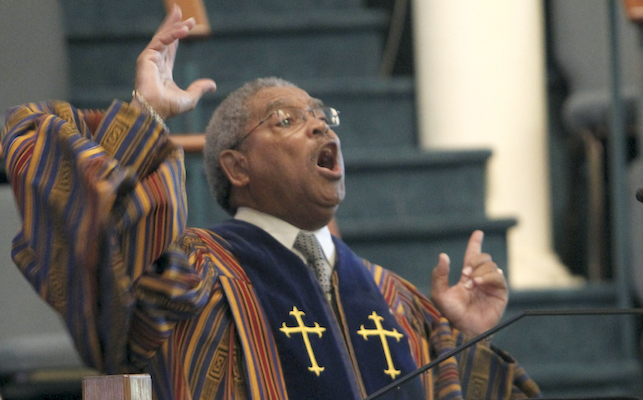Beloved Spiritual, Community/Spiritual Leader  Rev. James R.  Cherry Sr. Makes His Transition