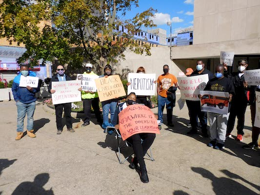 "Black Livelihoods Matter!  ""Justice  For All"" Rally Calls for End to Racially Biased Discrimination at NFTA"