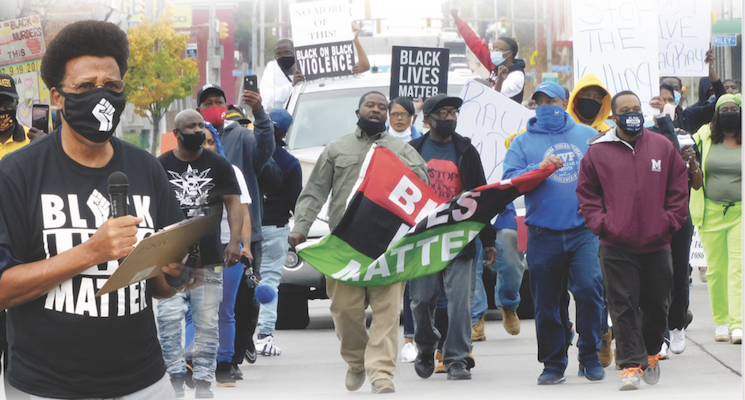 Community Marches for Peace and anEnd to Black Homicide in The City of Buffalo