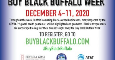 "In The City of Buffalo ""Buy Black Buffalo Week"" December 4th through 11th"