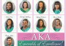 Presenting The  2020 AKA Debutants   EMERALDS OF EXCELLENCE!