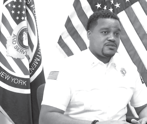 Joel Smith Makes History as First Black Lieutenant in Niagara Falls Police Department's 129-Year History