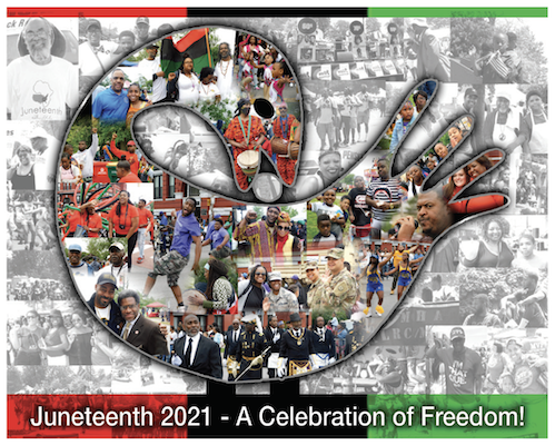 """""""The Continual Evolution OF JUNETEENTH"""" Buffalo Marks its 46th Consecutive Festival This Year With a Virtual Experience  and  Some Locals Create Their Own Special Events for A Celebration of Freedom"""