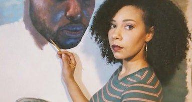 Artist Julia Bottoms Designs 2021 Coltrane Celebration Artwork