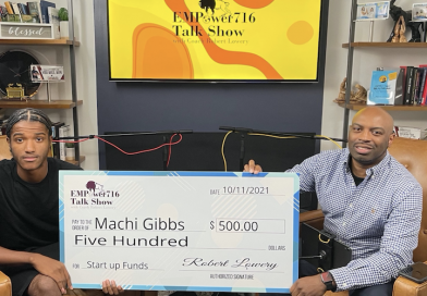 Hutch Tech High Student is First EMPower716 Young Entrepreneur of the Month $500 Startup Business Grant Awarded to 17-Year-Old Buffalo Entrepreneur